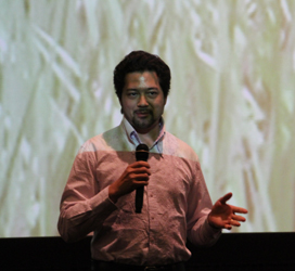 Kenji Williams, winner of the 2010 MY HERO Film Festival Media Award