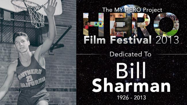 2013 Festival Dedication to Bill Sharman.  <P>Bill Sharman was a graduate of USC, where he played baseball and basketball. Bill played professionally for the Boston celtics. As coach of the Los Angeles Lakers, he led his team on a 33 game win streak, an NBA record. Off the courts, Bill was a champion working to support children, education and under served youth.