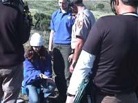 <center>Shannon holding a lizard</center>
