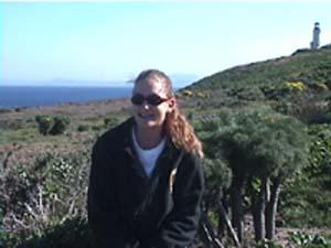 <center>Heather on Anacapa Island </center>