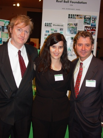 L-R: Doug Hollingsworth, Katherine Kirbo, and Todd Barber.