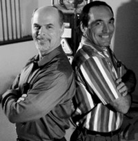 The HIB Team: Dr. Vicente Verez-Bencomo of Cuba and Dr. René Roy of Canada,<br> Image from the University of Ottowa. <br>(article in French)