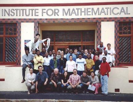 AIMS group of students and faculty, 2003