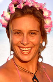 Laurel Eastman<br>Photo courtesy of <a href=http://www.laureleastman.com/>Laurel Eastman Kiteboarding</a>