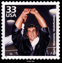 """Photo Courtesy of Michael N. Varveris, author of """"Rocky Marciano The 13th Candle"""""""