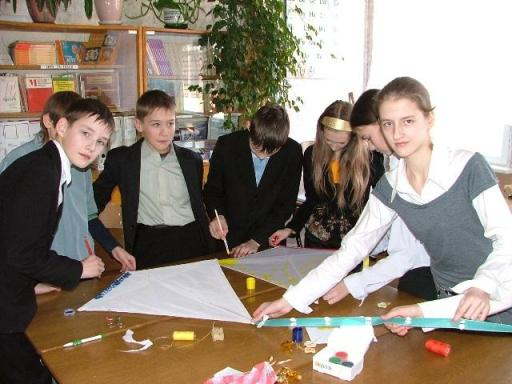 Students of School 10, Zhlobin, Belarus (Photo taken by Julia)