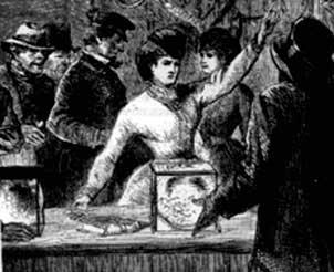 <a href='http://www.dgp.toronto.edu/people/AnnBarbara/AnnBarbara.Graff.html' target='new'>Victoria Woodhull is kept from voting (1871)</a>