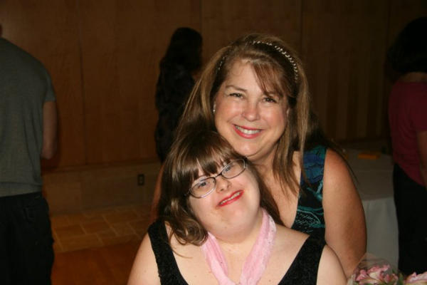 Debra Ruh and her daughter, Sara. Ruh runs TechAccess, a company that helps makes technology more accessible to people with disabilities.  <P>Courtesy of Debra Ruh