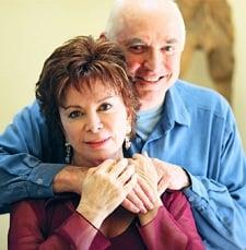 Isabel y su esposo Willie