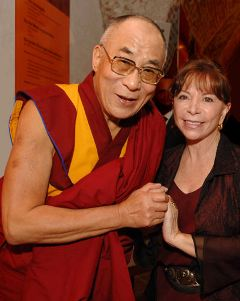 Isabel and the Dalai Lama