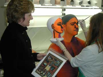 Diane provides artistic direction to all aspects of the  Pageant of the Masters.