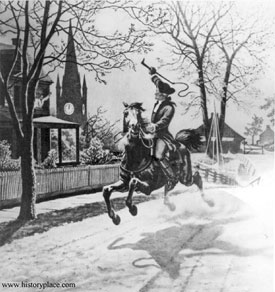 paul revere my hero  historyplace com unitedstates revolution revgfx