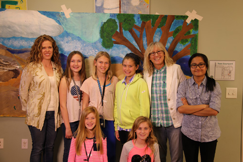Halley Jones - Laguna Canyon Conservancy with students from the Laguna Beach Boys and Girls Club and Wendy Milette - MY HERO Filmmaker