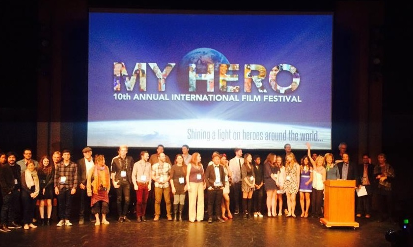 The winners of the 2014 MY HERO International Film Festival