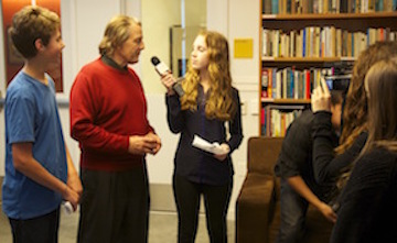 Students Interview Community Leaders at MY HERO Salon