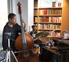 Jazz Musicians Perform at MY HERO Salon