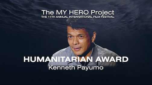 Ken Payumo - 2015 MY HERO Humanitarian Hero Award Winner