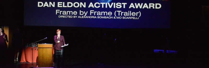 Kathy Eldon Presents the Dan Eldon Activist Award