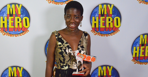 Gabrielle Gorman - MY HERO's 2015 Student Honoree and director of