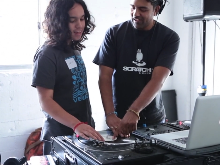 Give a Beat DJ Workshop
