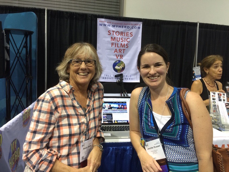 Wendy Milette, Director of MY HERO Media Arts Education, and Jennifer Russell from iEARN.org share highlights from MY HERO's Learning Circle