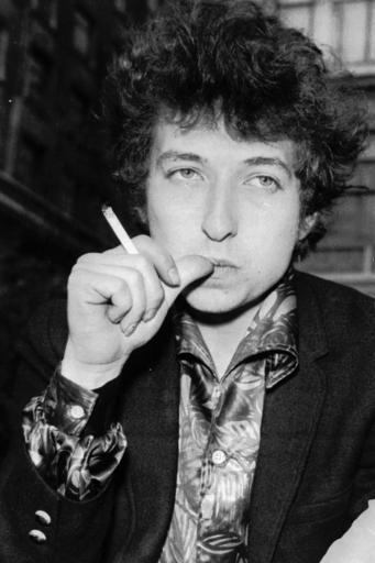 This April 27, 1965, file photo, shows Singer Bob Dylan in London. Dylan was named the winner of the 2016 Nobel Prize in literature Thursday, Oct. 13, 2016, in a stunning announcement that for the first time bestowed the prestigious award to someone primarily seen as a musician. (AP Photo/File)