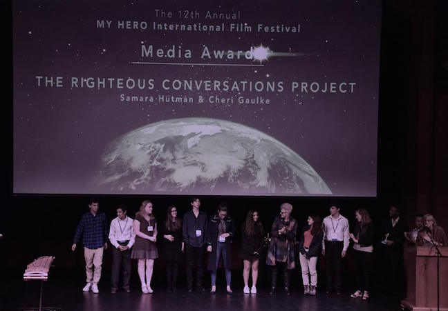 Participants of the Righteous Conversations Project at The MY HERO International Film Festival