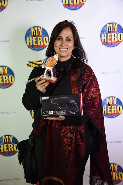 Fauzia Minallah at the 2016 MY HERO International Film Festival