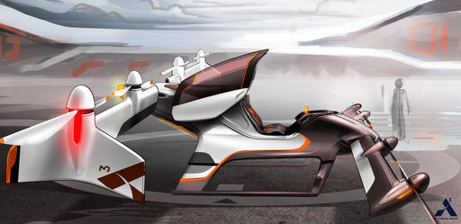 This artist rendering provided by Airbus shows a vehicle in their flying car project, Vahana. Even before George Jetson entranced kids with his flying car, people dreamed of soaring above traffic congestion. Inventors and entrepreneurs have tried and failed to make the dream a reality, but that may be changing. Nearly a dozen companies around the globe, some of them with deep pockets like Airbus, are working to develop personal aircraft that let people hop over crowded roadways. (Airbus via AP)