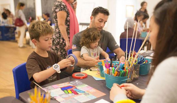 Participants create