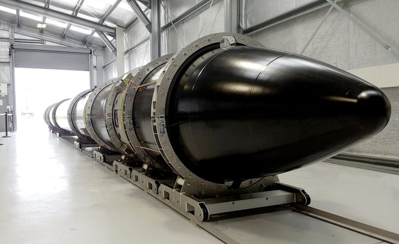 This Feb. 16, 2017 photo supplied by Rocket Lab, shows the Electron rocket at the launch site on the Mahia Peninsula in the North Island of New Zealand. New Zealand has never had a space program but could soon be launching commercial rockets more often than the United States. That's if the plans of California-based company Rocket Lab work out. Founded by New Zealander Peter Beck, the company was last week given approval by the Federal Aviation Authority to conduct three test launches from a remote peninsula and the first could come as early as Monday. (Rocket Lab via AP)