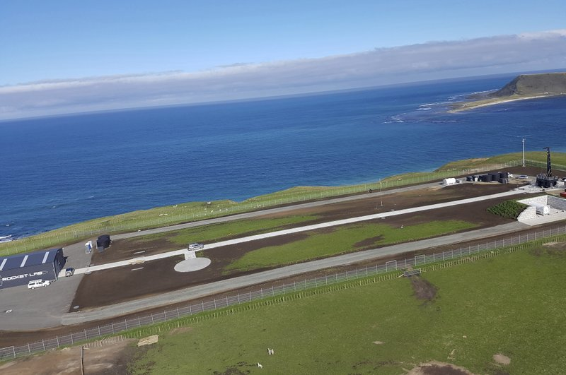 This Sept. 23, 2016 photo supplied by Rocket Lab, shows the launch site for the Electron rocket on the Mahia Peninsula in the North Island of New Zealand. New Zealand has never had a space program but could soon be launching commercial rockets more often than the United States. That's if the plans of California-based company Rocket Lab work out. Founded by New Zealander Peter Beck, the company was last week given approval by the Federal Aviation Authority to conduct three test launches from a remote peninsula and the first could come as early as Monday. (Rocket Lab via AP)