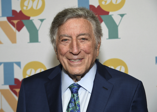 In an Aug. 3, 2016 file photo, singer Tony Bennett arrives for his 90th birthday celebration at the Rainbow Room at Rockefeller Plaza in New York. The Library of Congress announced Tuesday, June 20, 2017 that the 90-year-old Bennett has been honored with this year's Gershwin Prize for Popular Song. The prize was created by Congress to honor singers and songwriters who entertain, inform and inspire. (Photo by Evan Agostini/Invision/AP, File)