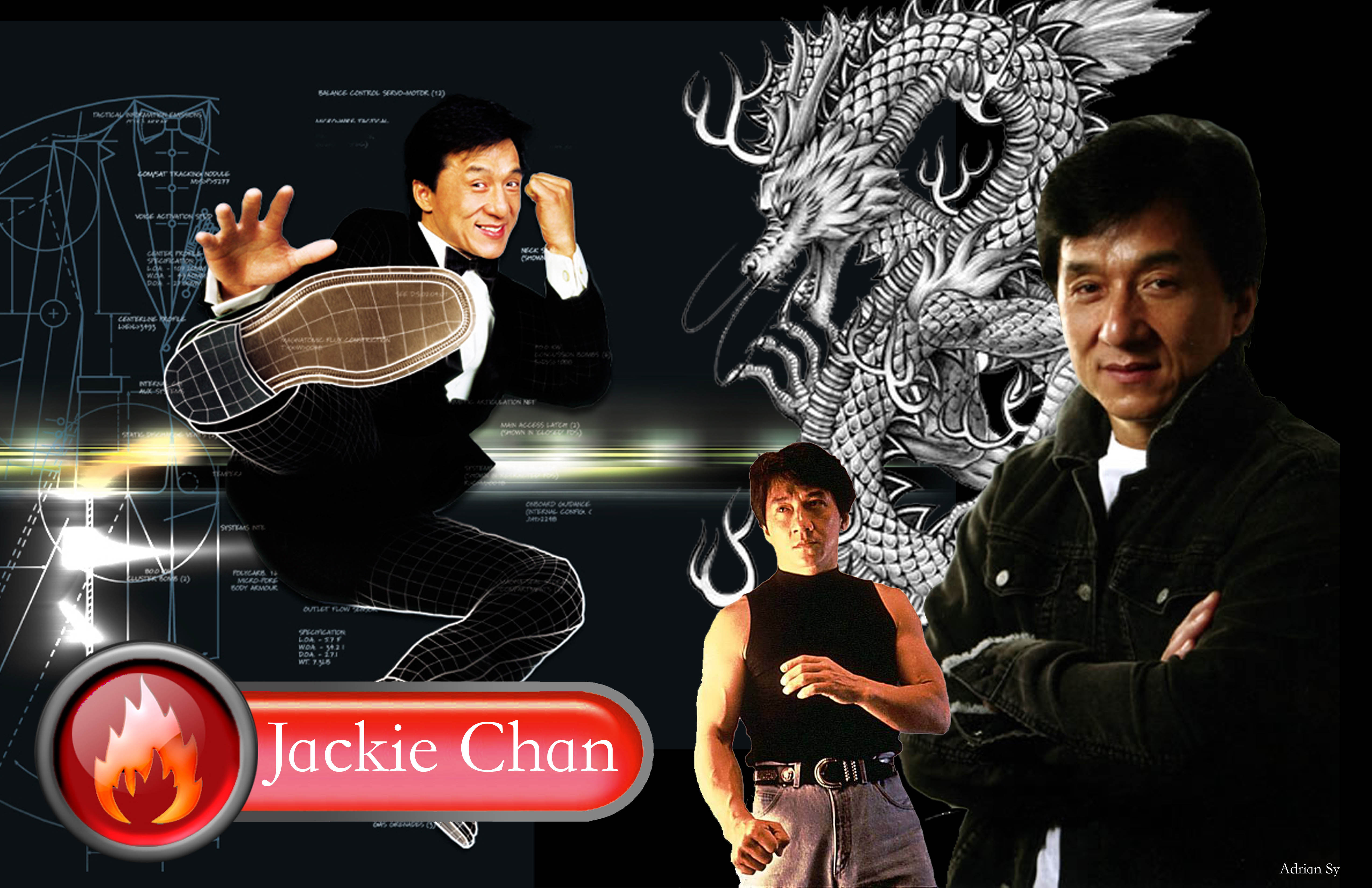 Jackie Chan royalty images
