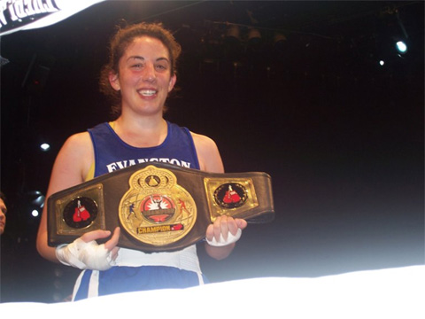 Katie wins her first title (Amy took it)