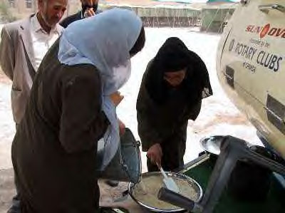 Sun Oven at a KABUL school. Image from: SunOven.com<br>