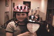 Gina's Bicycle Helmet (helmets.org)