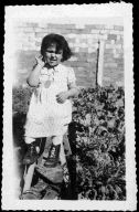 Zohra at 4 years old (L'Oreal-UNESCO for women in science)