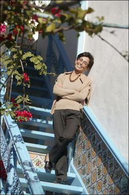 Pr. Zohra Ben Lakhdar at home (L'Oreal-UNESCO women in science)