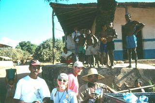 Dr. Kristi Curry-Rogers on the dig in Madagascar (Dr. Curry-Rogers)