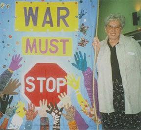 War Must Stop Painting with Sister Rosalie Bertell (awakenedwoman.com)