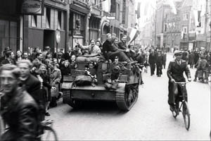 Canadian Troops Liberating Holland