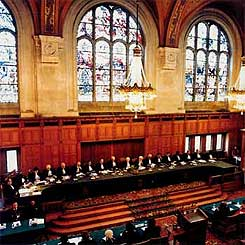 International Court of Justice in session. (www.holland.com)