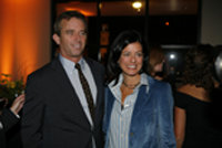Robert F. Kennedy, Jr., and Laurie David (www.lmu.edu)
