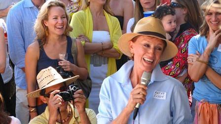 Kathy avec sa fille Amy à droite (Creative Visions)