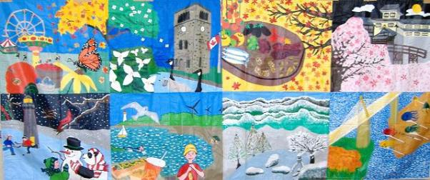 Canada and Japan Intercultural Mural Exchange (JAM)