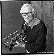 Albert Maysles (Photo by Kendall Messick)