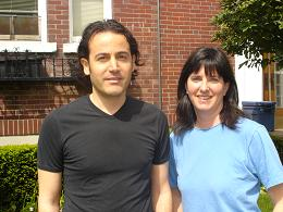 Adhi Hamael and Reena Lazar (Peace It Together)