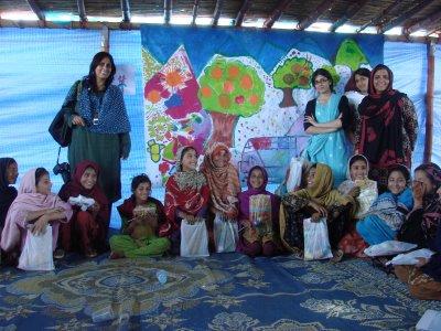 Shah Mansoor Camp in Swabi (Fauzia Minallah)