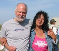 Robert Shetterly and Gulf Coast / Anti-war activist, Diane Wilson